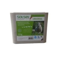 Liz solný SOLSEL minerální, bez mědi, 10 kg - hosp. zv. a lesní zv.