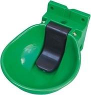Napáječka misková plastová /zelená/ SB1 s aretací