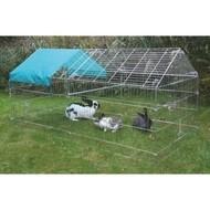 Výběh pro králíky, hlodavce a drůbež 220x103x103cm