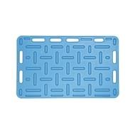 Zábrana plastová modrá