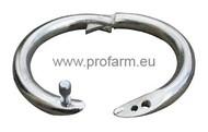 Kroužky nosní Top poniklované /52-54mm/