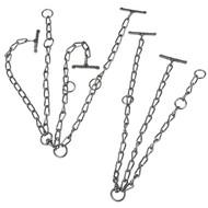 Vazák řetězový dvojitý pro krávy, 7 mm, 70 cm, 120 cm