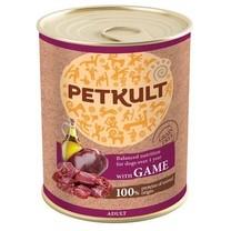 PETKULT dog konz. ADULT, game 800g