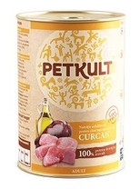 PETKULT dog konz. ADULT, turkey 800g