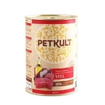 PETKULT dog konz. ADULT beef 800g