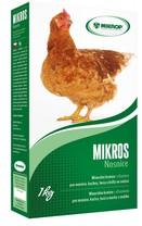 MIKROS Nosnice 1 kg - minerál.krmivo s vitamíny