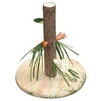 Držák krmný pro králíky, závěsné krmítko kulaté