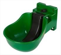 Napáječka misková K50 plastová zelená