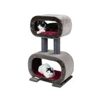 Škrabadlo pro kočky RUBIN - odpočívadlo, hnědé