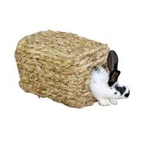 Domek pro králíky z trávy, 28x18x15cm