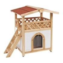 Pelíšek - zateplená bouda pro kočky TYROL ALPIN,88x57x77cm