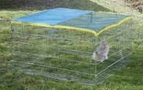 Výběh pro králíky, morčata a jiné hlodavce 115x115