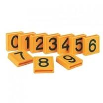 Číslo plastové jednoznakové se zámkem