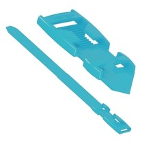 Páska na nohy Flexi, plastová, modrá
