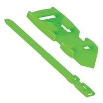 Páska na nohy Flexi, plastová, světle zelená