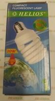 Zářivka kompaktní úsporná žárovka ECO 20 W, E27, spirála, 2700K