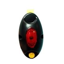 Kontrolka záblesková oválná-červená