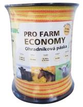 Páska, 10mm, PRO FARM ECONOMY, žlutooranž, 4x0,16 Niro