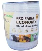 Páska, 20mm, PRO FARM ECONOMY, bílá, 4x0,16 Niro