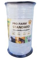 Páska, 40mm, 200 m, PRO FARM STANDARD, bílá, 8x0,16 Niro