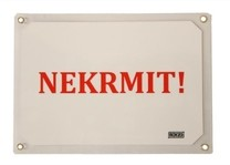 "Tabulka výstražná ""NEKRMIT"" lesk"