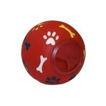 Hračka pro psy interaktivní - míček na pamlsky 11 cm