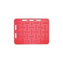 Zábrana dělící a naháněcí, 94 x 76 x 2,5 cm, červená