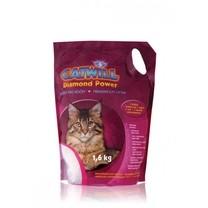 Stelivo pro kočky silikagelové Catwill, 3,8 L