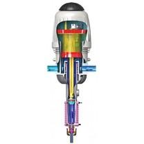 Medikátor MixRite, on/off systém, vnitřní bypass, PVDF model, 0,3 - 2%