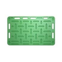 Zábrana plastová zelená, Velikost 125x76x2,5cm zelená