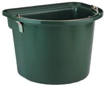 Vědro závěsné s kovovým držadlem zelené