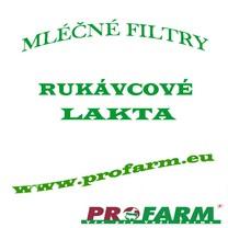 Ml. filtry rukávcové LAKTA - 65x620mm (50ks)