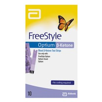 FreeStyle Optium, beta-ketone 10ks