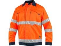 Blůza CXS NORWICH, výstražná, pánská, oranžovo-modrá, vel. 58