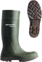 Holínky Dunlop Purofort green O4