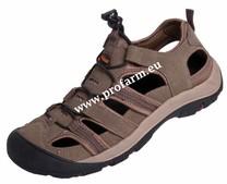 Sandále SAHARA, hnědé, Velikost 41