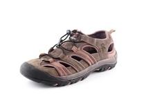 Sandále SAHARA, hnědé, Velikost 44