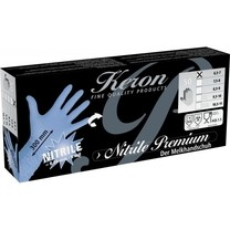 Rukavice nitrilové Premium, délka 30 cm, S