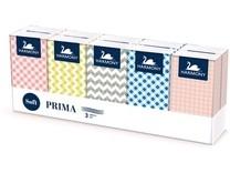 Papírové kapesníky LINTEO SATIN, 3-vrstvé