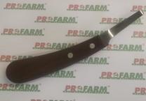 Nůž kopytní SuperProfi, jednostranný, úzký, levá