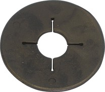 Gumové kroužky na udidlo dělené/pár černá