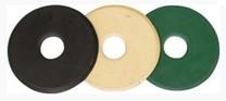 Gumové kroužky na udidlo PONY černé/pár