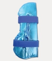 Chladící - zahřívací bandáž HOT-CHILLY LEG modrá