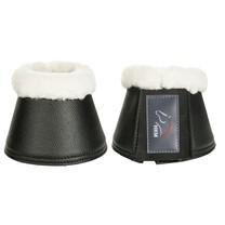 Zvony HKM s beránkem Comfort syntetická kůže černé M