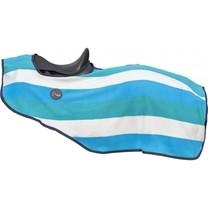 Bederní deka odpocovací Fashion Stripes 125 modrá