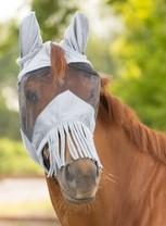 Maska proti hmyzu s třásněmi Waldhausen X-full šedá