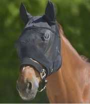 Maska proti hmyzu Premium UV ochrana Pony černá