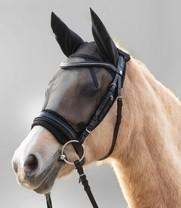 Maska proti hmyzu jezdecká Pony černá