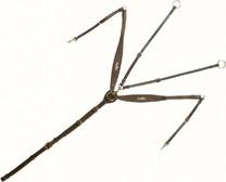 Poprsník KenTaur Napoli hnědý, Velikost Cob černý