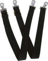 Popruhy náhradní elastické černé/pár